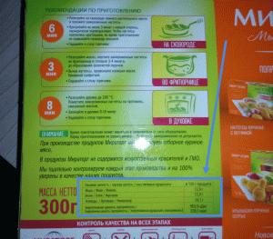 """Куриные наттесы из """"Мираторга"""""""