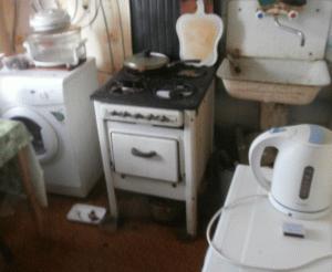 Моя старая газовая плита