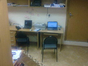 Классический офисный подвал, в котором я работал