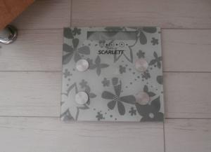 Мои напольные  весы Scarlett SC-216 Silver