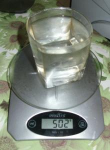 Мои первые электронные кухонные весы