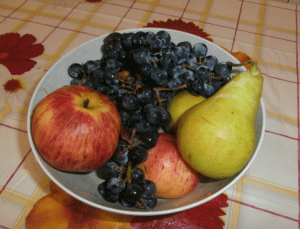 Я тоже люблю фрукты