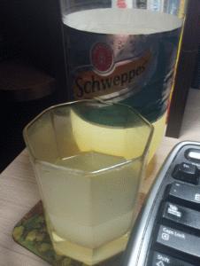 Швепс вместо пива - сомнительная замена)