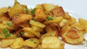 Жареный картофель - мое любимое блюдо