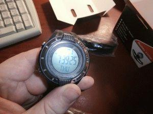 Мои часы с шагомером