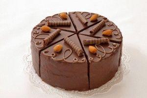 Шоколадный торт - две беды в одной)